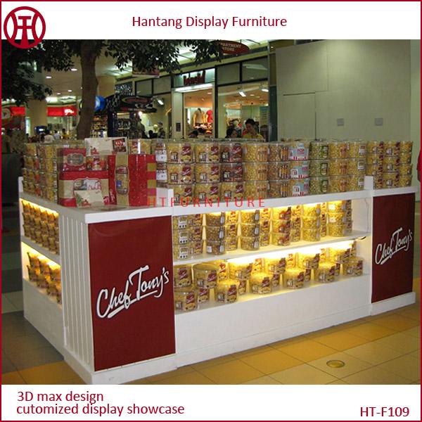 10 13 Feet Mall Popcorn Kiosk Mall Popcorn Display