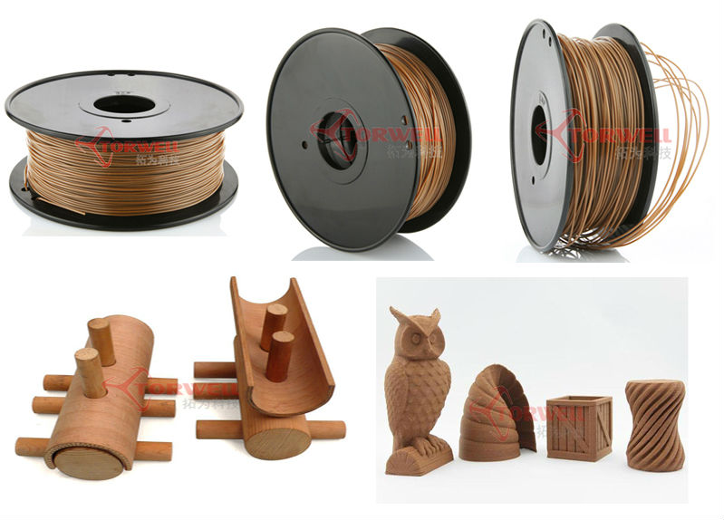 High quality LayWood filament, Laywoo-d filament, Wood Filament 1.75/3.00mm