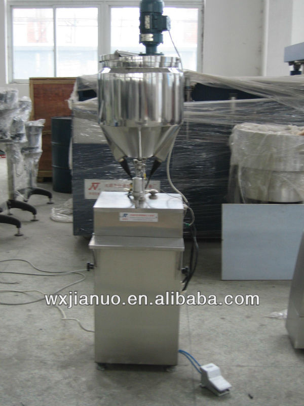 GS-1/2 cosmetic cream filling machine, cosmetic packaging machine, cosmetic cream filler supplier