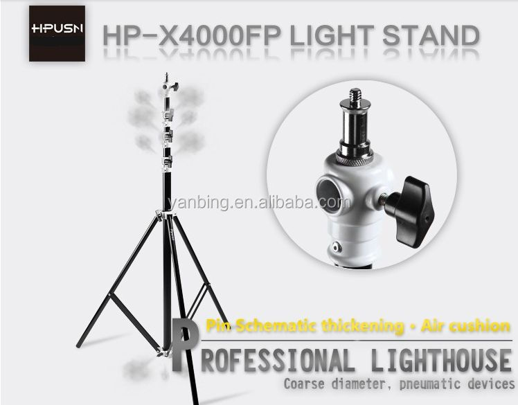 Photographic equipment 4.0m flexible studio photo air cushion light stand