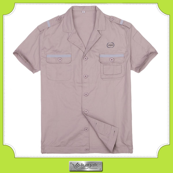 Custom hi vis sliver band 100%cotton twill coveral with own embroidery logo