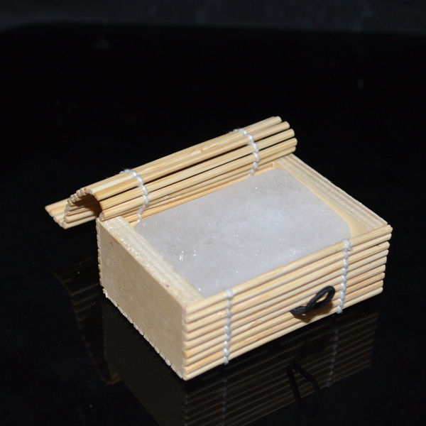 bamboo box packaging alum block wholesale