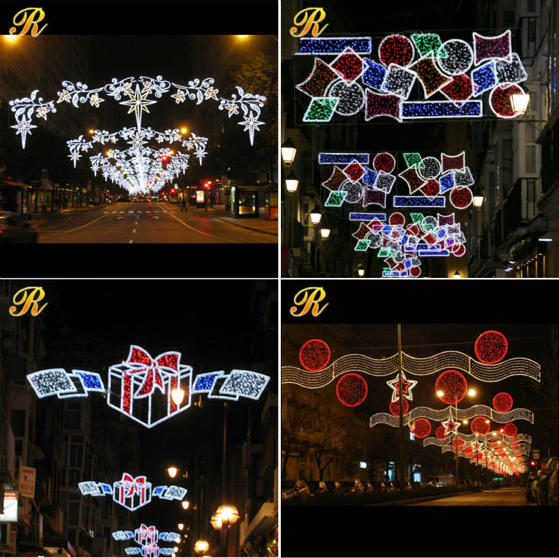 Christmas motif street LED landscape lights