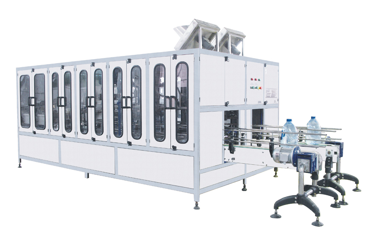 20 lt bottle washing, filling and caping machine
