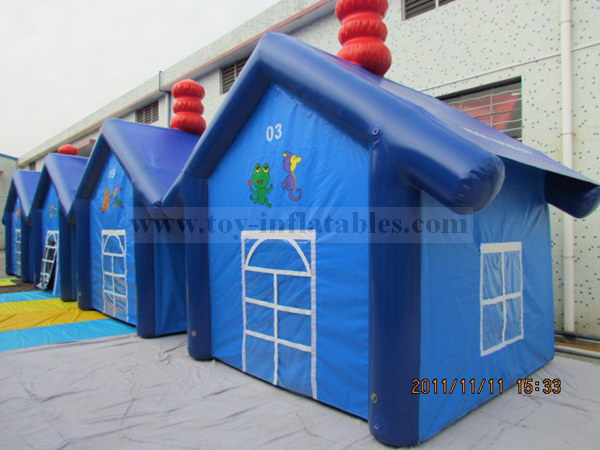 In stock customized inflatable tent waterproof