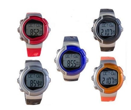 Pulse Heart Rate Monitor Calories Counter heart rate Watch XLJK001 (Red)