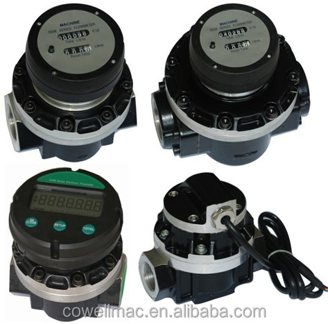 digital ogm oval gear fuel oil flow meter/HFO/food grade/petrol flowmeter