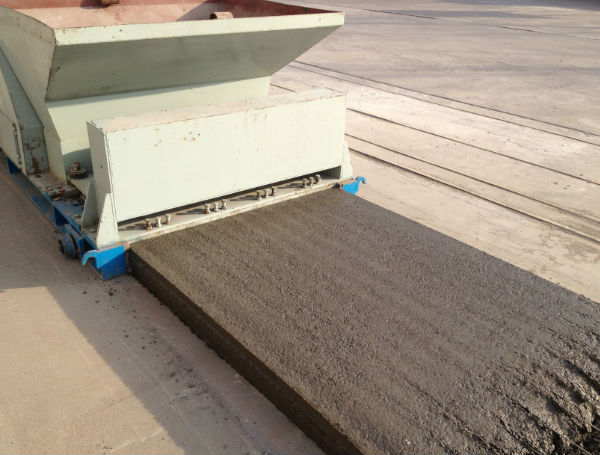 Foam brick walls construction machine foam brick panels for Foam block wall construction