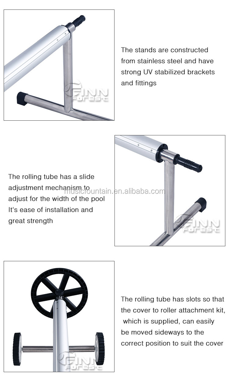 3 To 10 Meters Length Tough Swimming Pool Cover Roller Buy Swimming Pool Cover Roller Pool