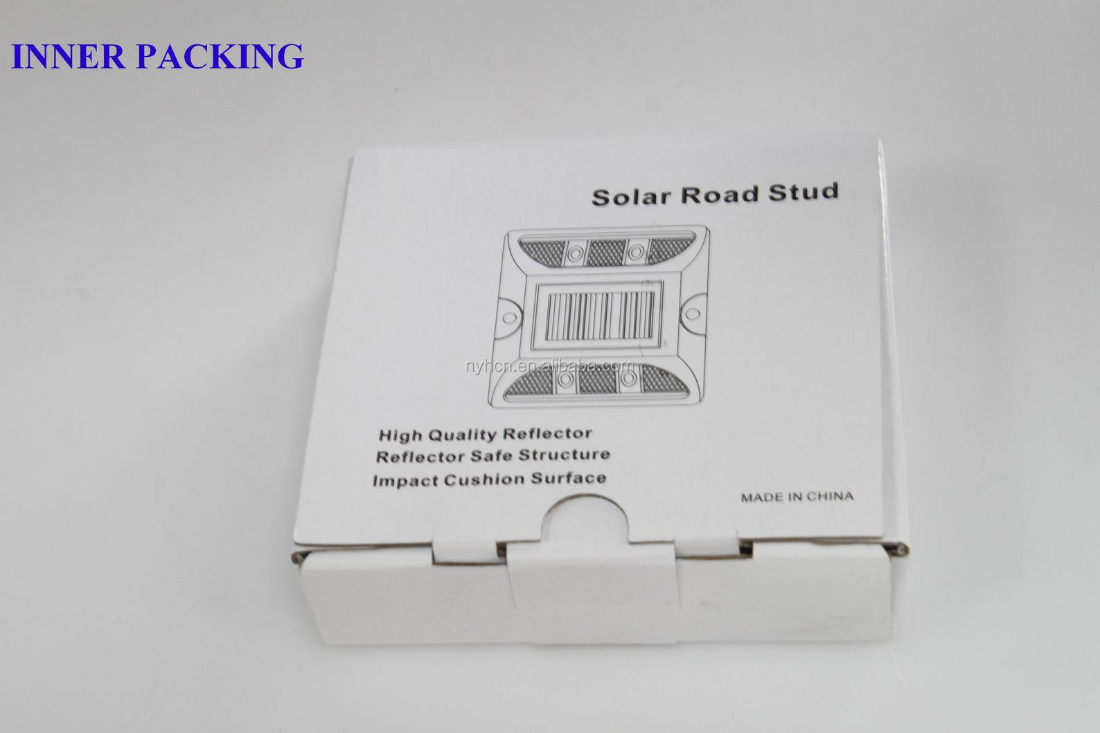 Best Selling Excellent Resistance Compression Waterproof solar led road stud