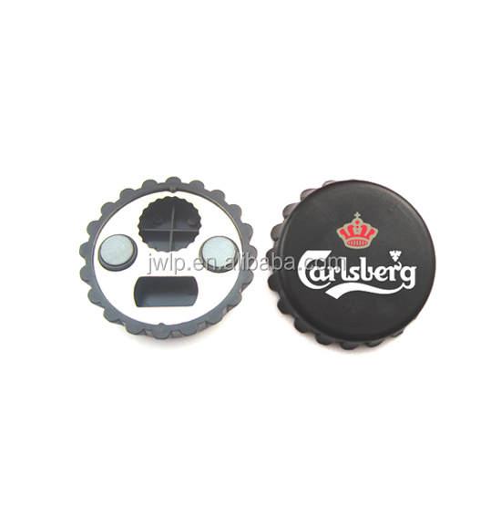 Fridge magnet bottle cap bottle opener