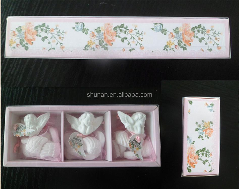 Fragrance Diffuser Clay/ Angel-shaped Clay, three packets a set