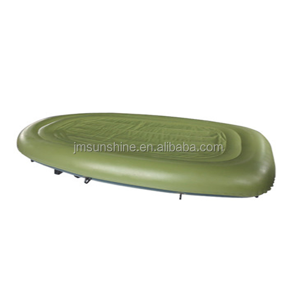 Plastic Inflatable fishing boat with paddle, boating ,China manufacturer boat
