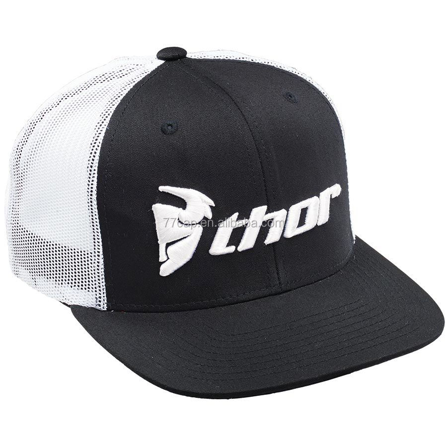 5 Panel Print Mesh Foam Lined Running Trucker Cap Hat Manufacturer