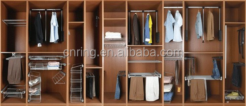 2017 Newest Home Furniture Wooden Storage Clothing Wardrobe Locker Household Cloakroom