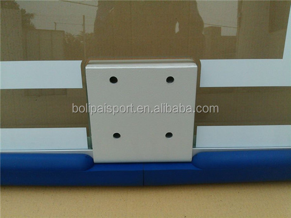 Outdoor tempered glass basketball backboard