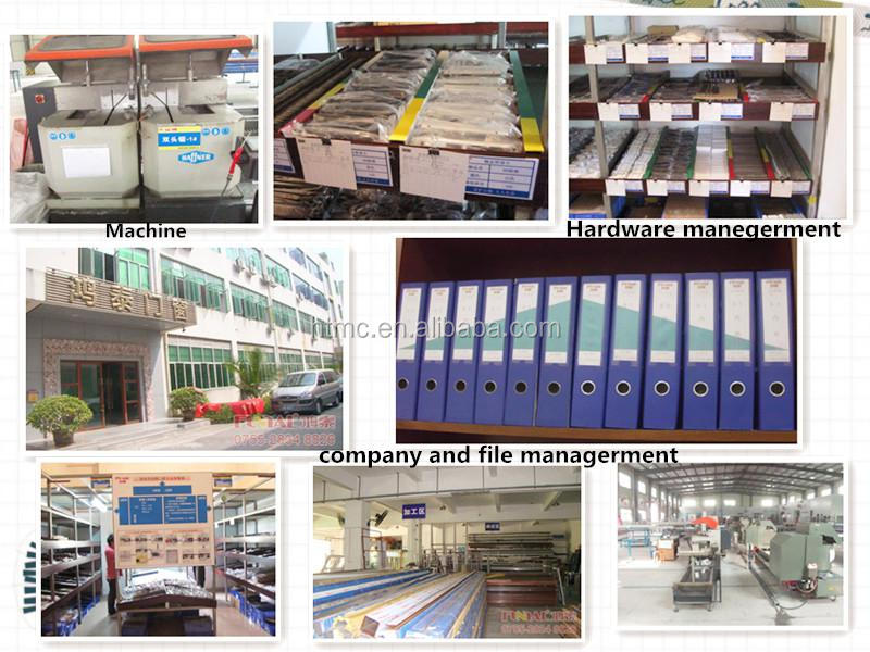 Fashion Design Aluminum glass folding doors, factory supply folding door price