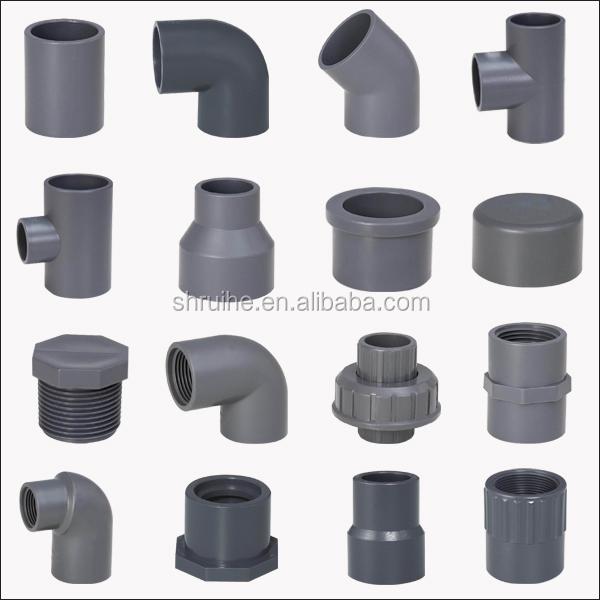 Plastic pvc pipe large diameter water high