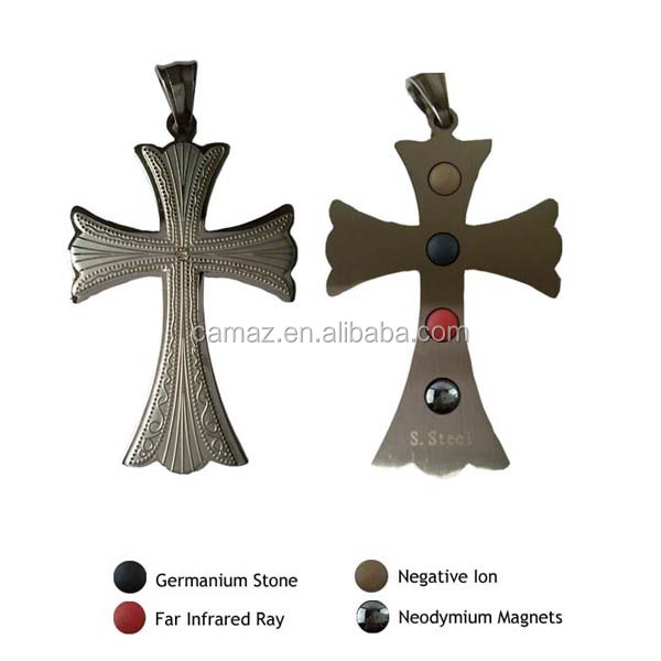 2016 Newly design cross energy pendant with OEM