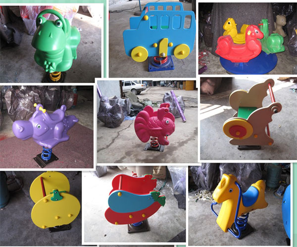 spring horse,plastic animal rocker,spring equipment,rocking horse,spring rocking horse
