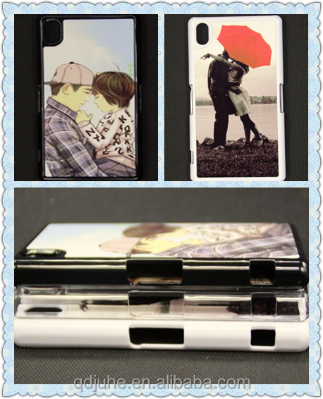 sublimation phone case for sony Xperia Z2