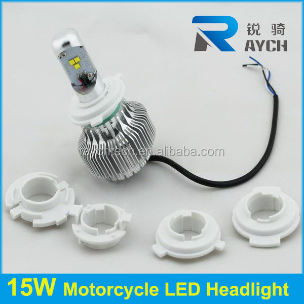 15W motorcycle led headlight h4 h6 ba20d p15d,15w motorcycles led lighting, motor led h6 bulb