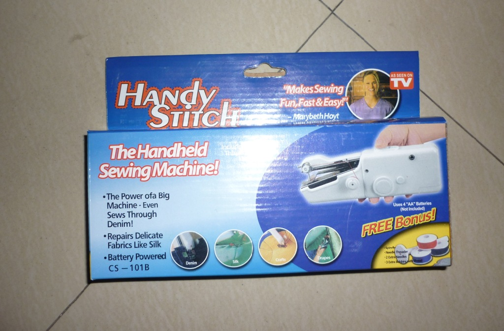 Manual Mini Handy Stitch Handheld Sewing Machine As Seen On TV,Cheap Prices Sewing Machines