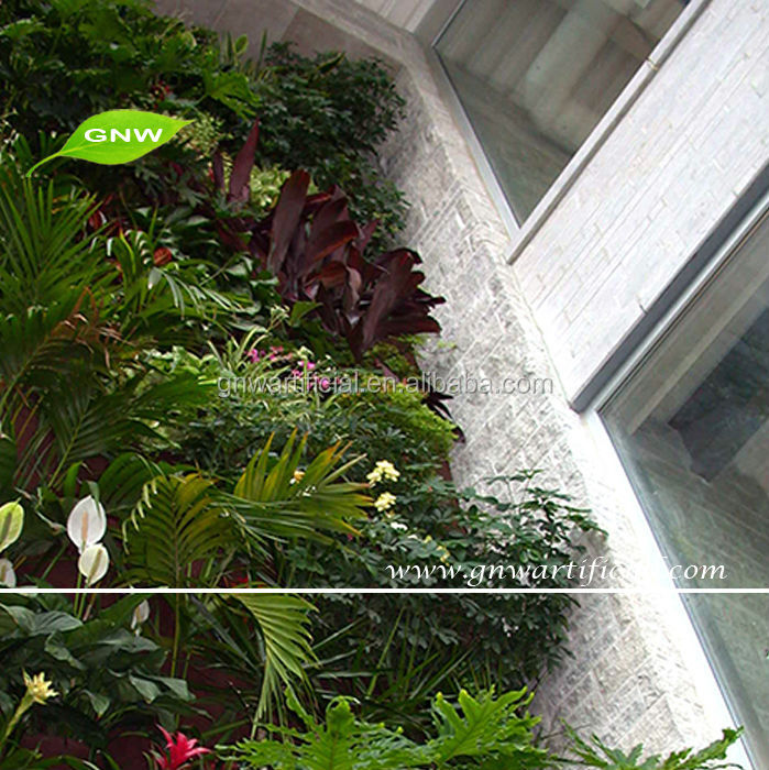 GNW GLW062 Wholesale Fake Artificial Wall Plants For Green Wall Home Hotel