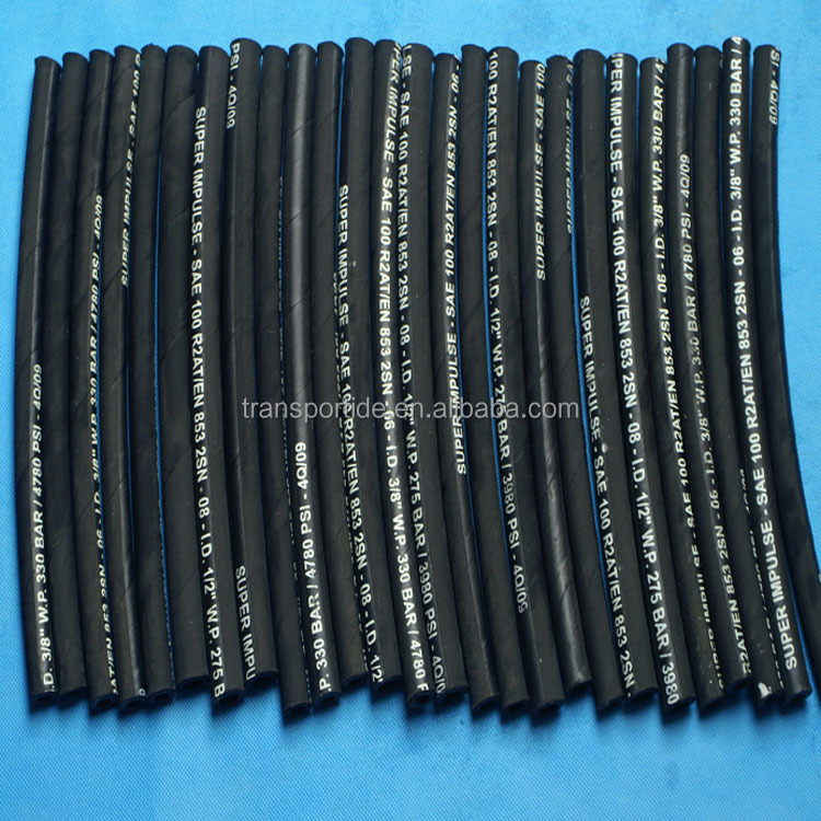 Gates Standard Hydraulic flexible rubber hose pipe SAE100R1AT