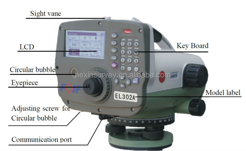 FOIF EL302A digital level for construction