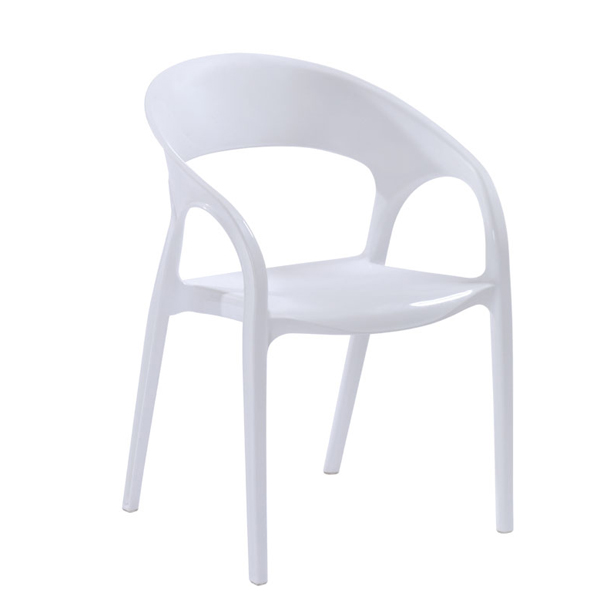 new style plastic simple design outdoor armchair elderly chair