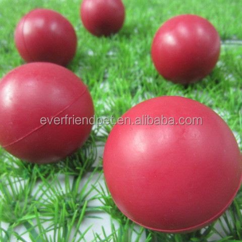 2015 New! small rubber ball,silicone rubber ball for dog