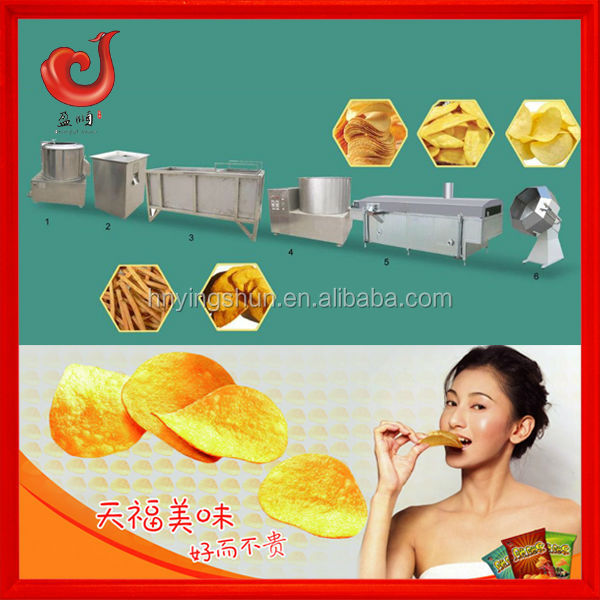 potato chips making machine for chips