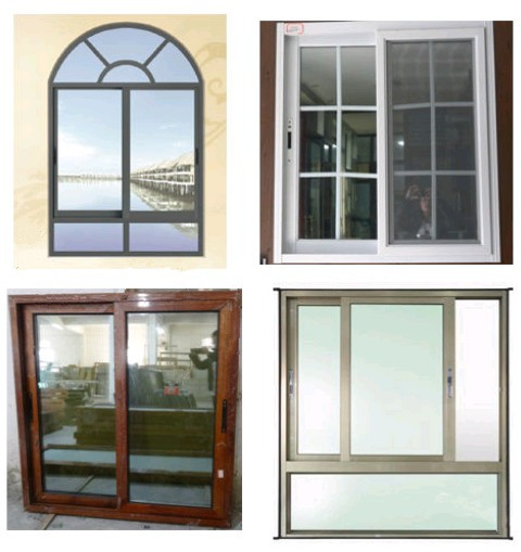 how to take a double glazed window out