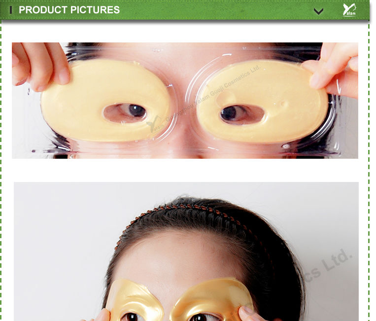 Collagen Albumen Crystal Golden Eye Mask/Patch Moist