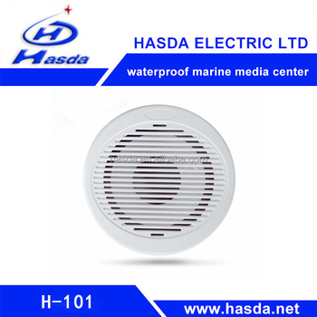 "shenzhen supplier wholesale marine sound speakers 10""inch of mp3 bluetooth play for boat sauna spa pool car bathroom"