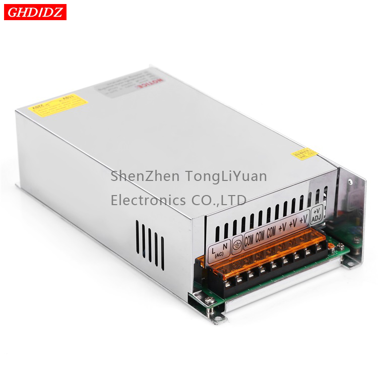 12v 40a electric power 220vac too 12vdc power voltage regulator