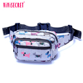 vivisecret nylon promotion sport men's shoulder waist bag stylish waist pack