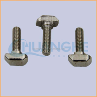 Factory supply high quality hdg m6 to m20 square head t bolt