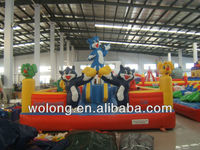 inflatable bouncer trampoline, commercial jumping castle