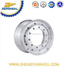 cheap china via aluminum wheels truck wheels 22.5