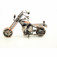 China Supplier Die Cast Motorcycle Model Toys, Iron Motorbike Craft Nice Gifts For Boys And Men