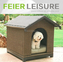 Luxury cheap wicker pets\/dogs\/cats baskets house