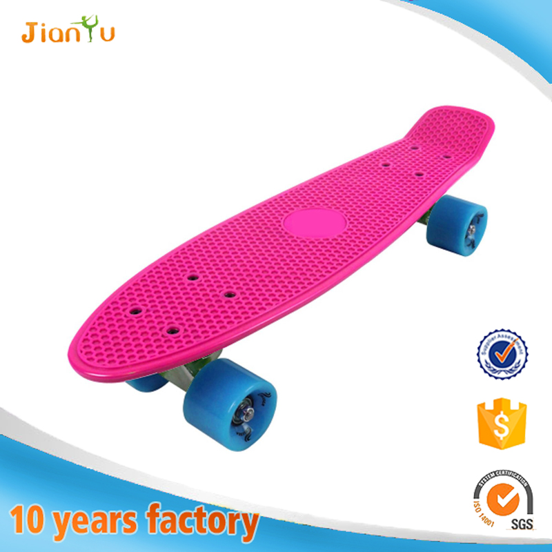 Wholesale longboard complete mini cruiser fish skateboard plastic skateboard
