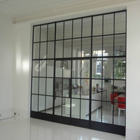 Australia standard steel windows and doors entry main iron gate with grill design
