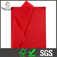 Nice Red tissue paper/rainbow color wrapping paper