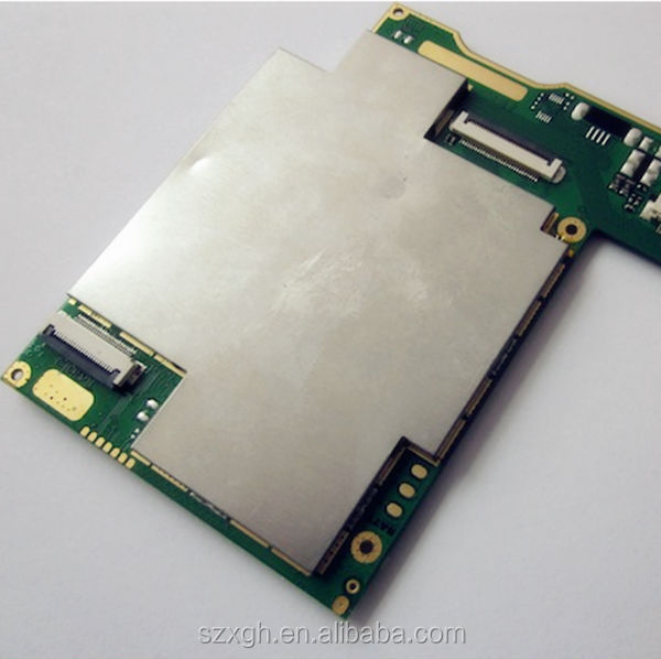 Hardware factory supply Metal l EMI Shield Case with Pins for Insert On PCB