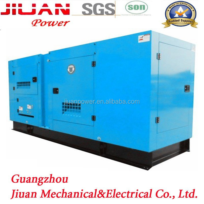100kva guangzhou power silent electric factory price diesel generator set genset diesel generator with auto mains failure