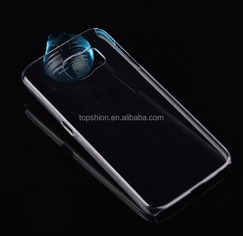 High quality DIY 3D blank clear hard pc sublimation cell phone case for samsung galaxy s6 /s6 edge/ s6 edge plus