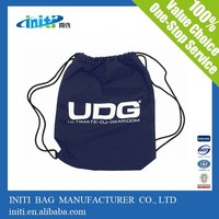 Cotton Gym Sack Drawstring Bag For Promotion